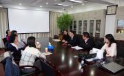 王永利主任会见中国对外承包工程商会王禾副会长一行