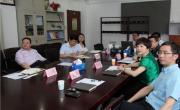 王永利主任会见江中集团副总经理卢小青一行