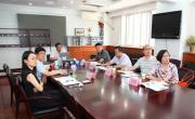 中国兵器工业集团北方特种能源集团副总经理刘天新一行前来中心交流研讨职业经理人制度