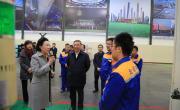 黄丹华深入中国建材宣讲党的十九大精神