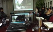 中心党委组织观看《褪色的人生》警示教育片
