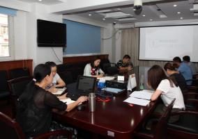 中心党委第二支部开展支部书记讲党课活动