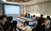中心党委第二支部开展集中学习活动