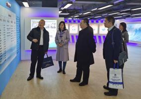 职业经理研究中心王永利主任一行赴中国海峡人才市场调研考察